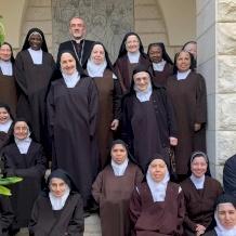 Sa Béatitude le Patriarche Pierbattista Pizzaballa confie sa nouvelle mission aux ordres contemplatifs
