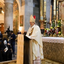 Homélie du Patriarche Pizzaballa pour sa 1ère Messe pontificale au Saint Sépulcre