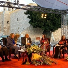 """Dalla Piazza della Mangiatoia prende il via l'anno di """"Betlemme Capitale Araba della Cultura 2021"""""""