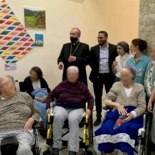 البطريرك بيتسابالا في زيارة تفقدية لمستشفى القديس لويس الفرنسي