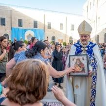 Parroquia latina de Jerusalén celebra el fin del mes mariano