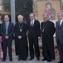 زيارة السفير الإيطالي وسفير التعاون الإنمائي الإيطالي إلى مركز سيّدة السلام في عمان