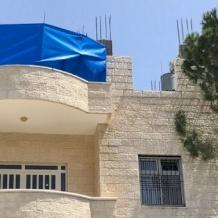 New floor for the parish building of Ein Arik