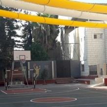 Completato il progetto per la realizzazione di un'area sportiva e ricreativa ombreggiata nella scuola del Patriarcato Latino a Gaza