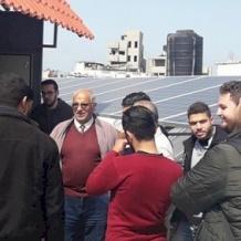 Gli studenti dell'Università islamica di Gaza visitano la Scuola del Patriarcato latino