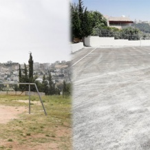 A new playing field and playground for the school of the Latin Patriarchate of Naour in Jordan