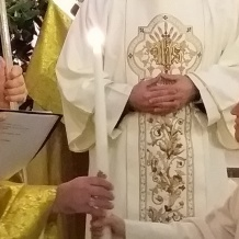 Perpetual profession of Sr. Serafina at Our Lady of Palestine Shrine in Deir Rafat