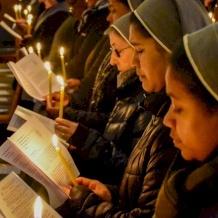 الاحتفال باليوم العالمي للحياة المكرسة في مزار القديس بطرس لصياح الديك