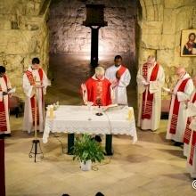 A l'Ecce Homo, les fidèles commémorent le Christ couronné d'épines