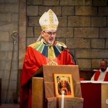«Vivre dans l'esprit du Ressuscité et en témoigner sans crainte»: Mgr Pizzaballa célèbre la Pentecôte à l'Abbaye de la Dormition