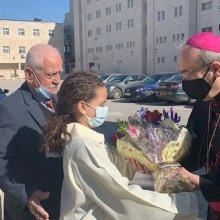 Ramallah: First visit of Patriarch Pizzaballa to Holy Family Parish