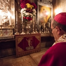 In pictures: Entrance of Patriarch Pizzaballa into Holy Sepulchre for 1st week of Lent