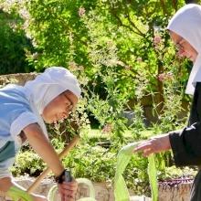 يومٌ للصداقة في دير القديسة مريم للصعود في أبو غوش