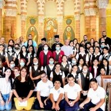 خدمة صلاة مسكونية لطلاب المدارس المسيحية في القدس