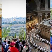 Les 10 processions en l'honneur du Christ et de la Vierge Marie en Terre Sainte