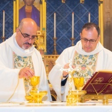 Fr. Ibrahim Shomali and Fr. Yacoub Rafidi celebrate Silver Jubilee of priestly ordination