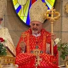 Patriarch of Syriac Catholics visits Holy Land and presides over installation service of Bishop Yacoub Semaan
