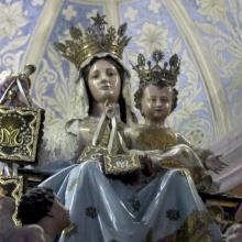 الرهبنة الكرملية تحتفل بعيد العذراء سيدة الكرمل في حيفا