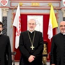 Passaggio delle consegne a Don Davide Meli, nuovo Cancelliere del Patriarcato Latino