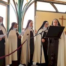 الراهبات الكرمليات يحتفلن بعيد القديسة مريم بواردي في بيت لحم