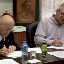 البطريركية اللاتينية وجامعة بيت لحم توقعان اتفاقيتين لتمكين الشباب وتأهيل معلمي الدين المسيحي
