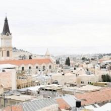 رسالة عيد الميلاد لبطاركة ورؤساء الكنائس في القدس ٢٠١٧