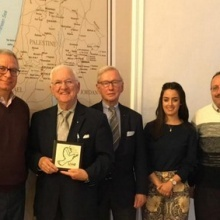 Holy Land Commission reviews the various projects implemented in Jerusalem Diocese
