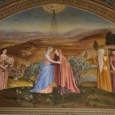 """تأملات الشهر المريمي، ٢ أيار: """"مباركة أنت بين النساء ومباركة ثمرة بطنك سيدنا يسوع المسيح"""""""