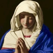 تأملات الشهر المريمي، ١٢ أيار: جمال مريم الروحي