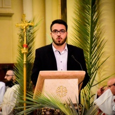 Palm Sunday celebration at Co-Cathedral of Latin Patriarchate