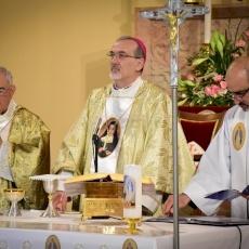 القداس الاحتفالي بمرور ٥ أعوام على إعلان قداسة الأخت ماري ألفونسين