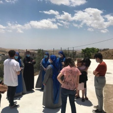 Taybeh Christian community come together for the benefit of elderly during lockdown