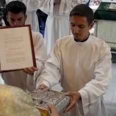 El seminario RM de Galilea tiene nueve nuevos ministros: cinco lectores y cuatro acólitos