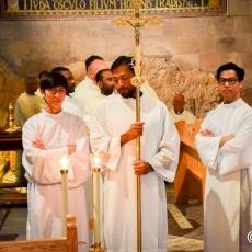 Ordination diaconale pour sept frères Salésiens à Gethsémani