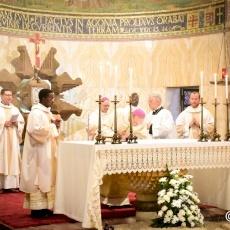 Ordinazione diaconale di sette religiosi Salesiani al Getsemani