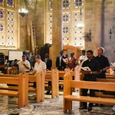 Seven Salesians ordained to Diaconate in Gethsemane