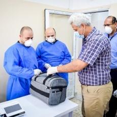 Pope Francis donates needed Covid-19 test kits to Gaza Strip