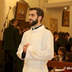 Latin Patriarchal Seminary of Beit Jala celebrates Diaconal Ordination of acolyte Wajdi Twal