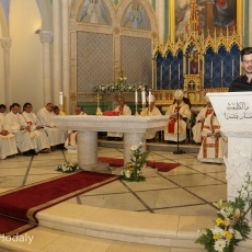 "Fr. Firas Abedrabbo: ""The 'time' factor is very important for discernment. Letting time pass matures a decision"""
