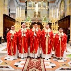 الرسامة الكهنوتية لخمسة كهنة جدد في كنيسة دير المخلص في القدس