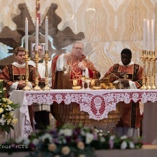 The Feast of the Most Precious Blood of Our Lord Jesus Christ at the Basilica of the Agony