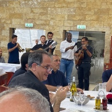 Priests of Holy Land gather for their yearly spiritual retreat in Galilee