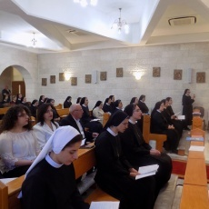 Rosary Sisters in Palestine and Jordan profess their vows