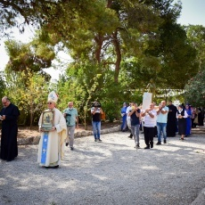 Centenary of consecration of Palestine to Virgin Mary