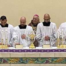 Quatre séminaristes du Patriarcat latin admis comme candidats à l'ordination au diaconat