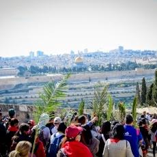 La procession du dimanche des Rameaux