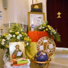 راهبات المخلص يحتفلن استعدادًا لإعلان الأب فرنسيس يوردان طوباويًا الأحد ١٦ أيار