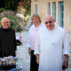 5 de junio de 2021: Día de la amistad en la Abadía de Santa María de la Resurrección de Abu Gosh