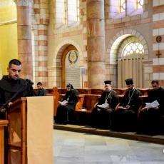Ecumenical prayer service for students of Christian schools in Jerusalem