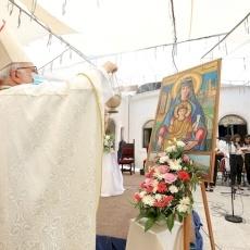 Fête de Notre-Dame du Mont à Anjara et procession